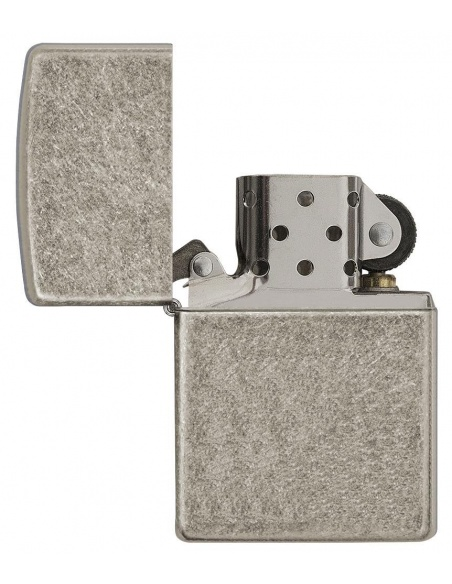 Bricheta Zippo 28973 Armor Antique Silver Plate