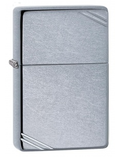 Bricheta Zippo 267 Street Chrom Vintage with Slashes