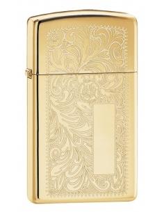 Bricheta Zippo 1652B Slim Brass Venetian