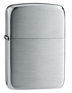 Bricheta Zippo 24 Hand Satin Sterling Silver 1941 Replica