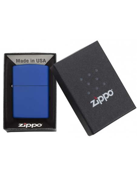 Bricheta Zippo 229 Royal Blue Matte