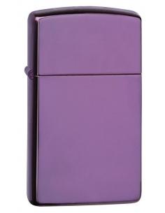 Bricheta Zippo 28124 Slim High Polish Purple