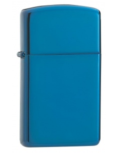 Bricheta Zippo 20494 Slim High Polish Blue
