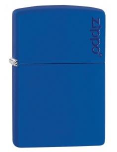 Bricheta Zippo 229ZL Royal Blue Matte with Zippo Logo
