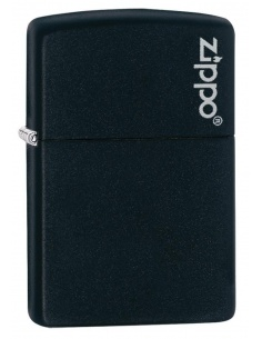 Bricheta Zippo 218ZL Black Matte with Zippo Logo