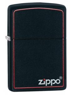 Bricheta Zippo 218ZB Classic Black and Red Zippo