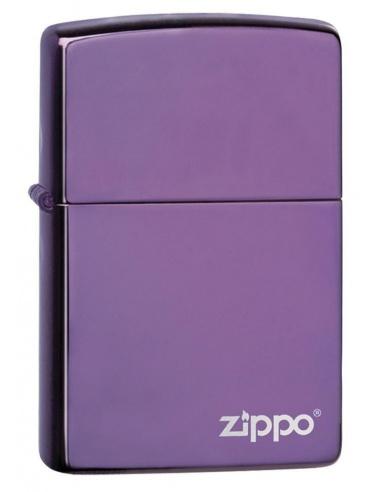 Bricheta Zippo 24747ZL High Polish Purple Zippo Logo
