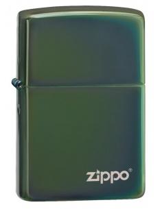 Bricheta Zippo 28129ZL High Polish Green Zippo Logo