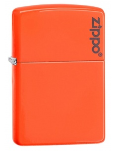 Bricheta Zippo 28888ZL Neon Orange Zippo Logo