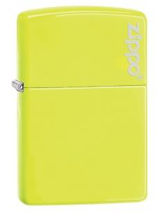 Bricheta Zippo 28887ZL Neon Yellow Zippo Logo