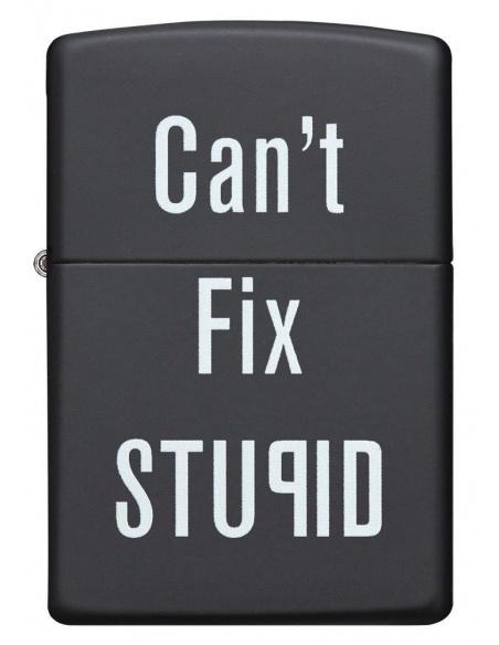 Bricheta Zippo 28664 Can't Fix Stupid