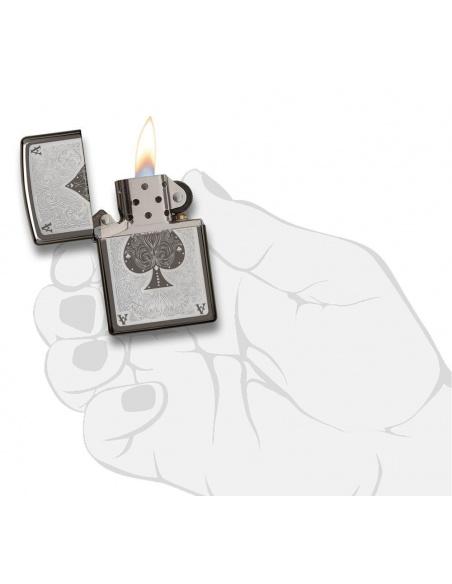 Bricheta Zippo 28323 Ace Of Spades