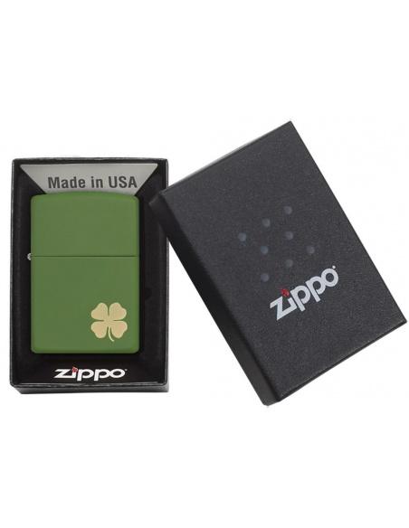 Bricheta Zippo 21032 Shamrock Deere Green