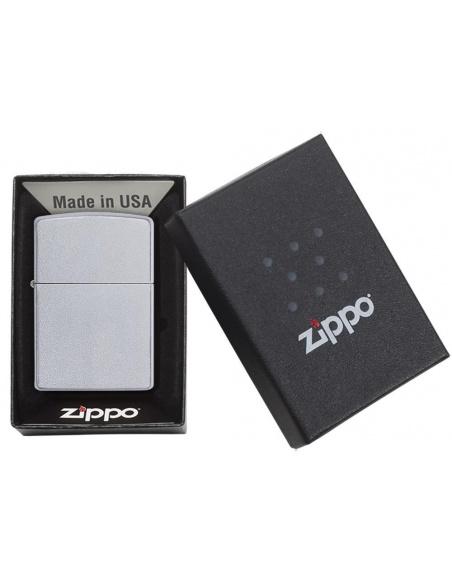 Bricheta Zippo 205 Classic Satin Chrome