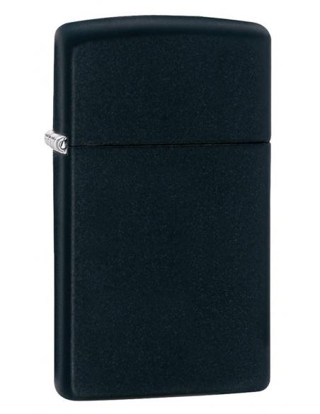 Bricheta Zippo 1618 Slim Black Matte