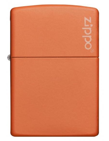 Bricheta Zippo 231ZL Orange Matte with Zippo Logo