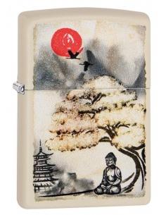 Bricheta Zippo 29846 Pagoda Bonsai Buddha Design