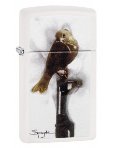 Bricheta Zippo 29848 Spazuk-Bird Sitting on a Gun