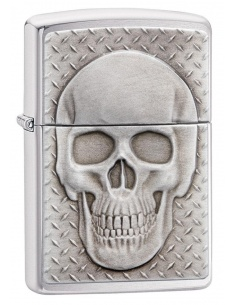 Bricheta Zippo 29818 Skull With Brain Surprise