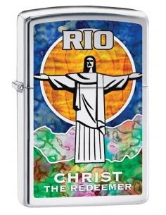 Bricheta Zippo 29256 Christ The Redeemer