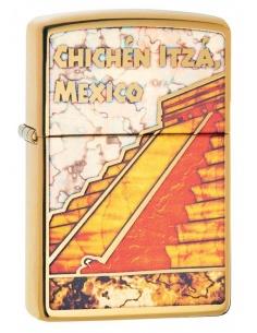 Bricheta Zippo 29826 Pyramid-Chichen Itza-Mexico