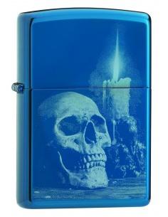 Bricheta Zippo 29704 Skulls & Candle