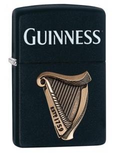 Bricheta Zippo 29676 Guinness Beer-Harp