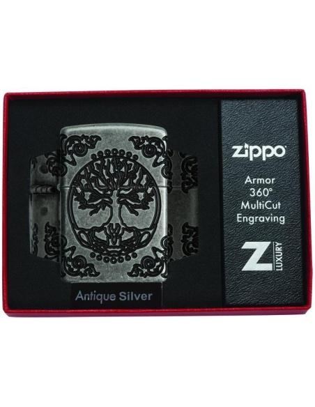 Bricheta Zippo 29670 Tree of Life-2 Sided