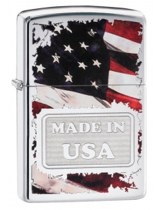 Bricheta Zippo 29679 American Flag-Made In USA