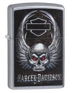 Bricheta Zippo 29558 Harley Davidson-Skull