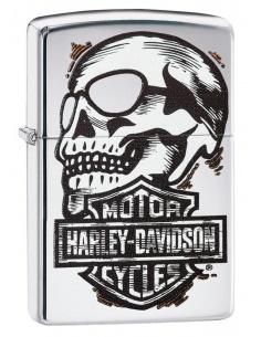 Bricheta Zippo 29281 Harley Davidson-Skull