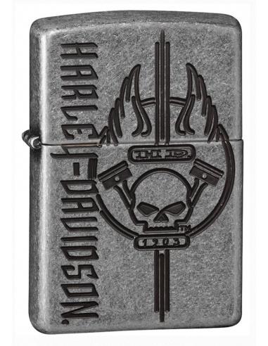 Bricheta Zippo 29280 Harley Davidson Skull