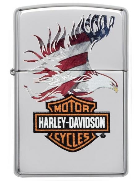 Bricheta Zippo 28082 Harley Davidson-Logo