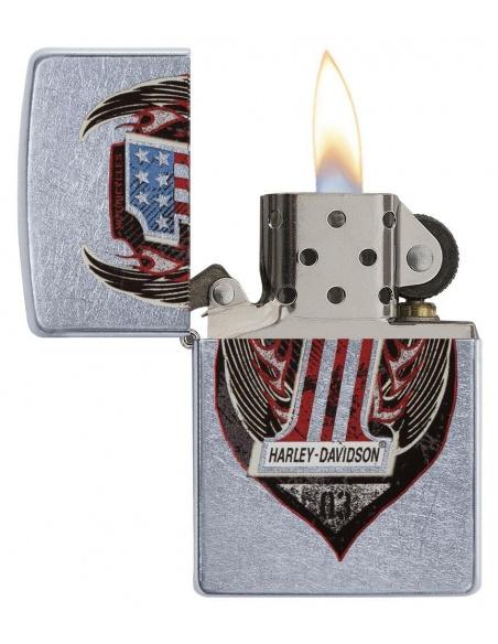 Bricheta Zippo 29347 Harley Davidson-Logo No. 1