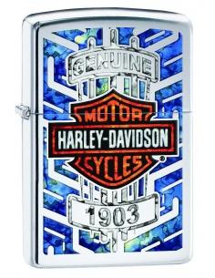 Bricheta Zippo 29159 Harley Davidson-Logo