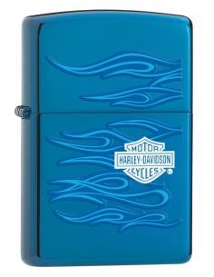 Bricheta Zippo 20711 Harley Davidson-Blue Flames