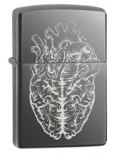 Bricheta Zippo 29728 Heart and Brain