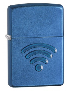 Bricheta Zippo 29716 WiFi Stamp 3D Design
