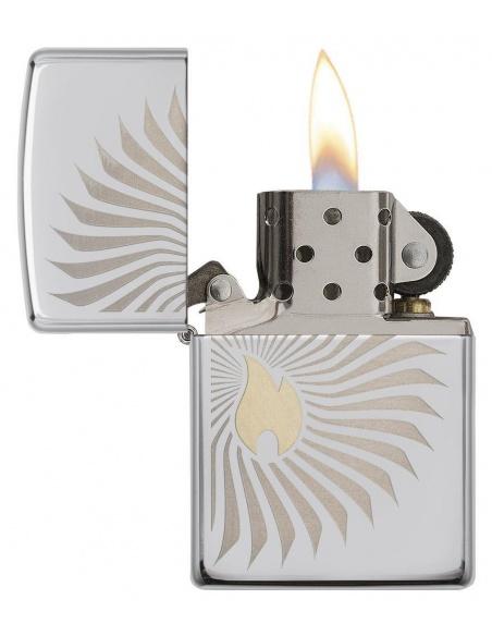 Bricheta Zippo 29726 Flame Rays