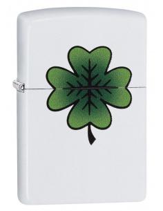Bricheta Zippo 29723 4 Leaf Clover Design