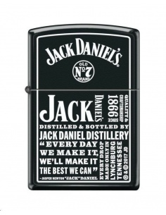 Bricheta Zippo 4419 Jack Daniel's Tennessee Whiskey Old No. 7