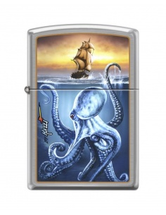Bricheta Zippo 3536 Mazzi Sea Monster Ship