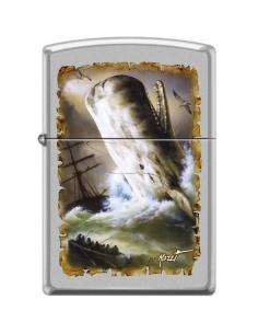 Bricheta Zippo 4164 Mazzi-Whale-Ships at Sea