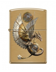 Bricheta Zippo 6311 Anne Stokes-Flying Dragon