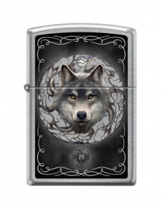 Bricheta Zippo 5812 Anne Stokes-Wolf & Moon