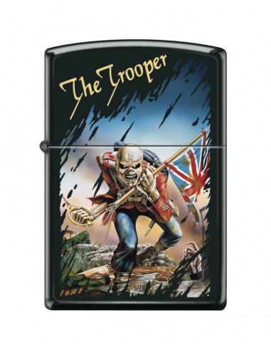Bricheta Zippo 3389 Iron Maiden-The Trooper