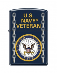 Bricheta Zippo 1026 United States Navy Veteran