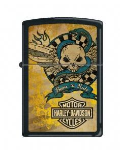 Bricheta Zippo 2573 Harley Davidson-Skull