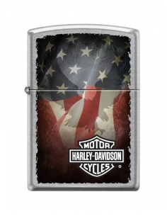 Bricheta Zippo 7715 Harley Davidson-Flag
