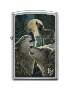 Bricheta Zippo 9288 Lisa Parker-Pack of Wolves-Full Moon